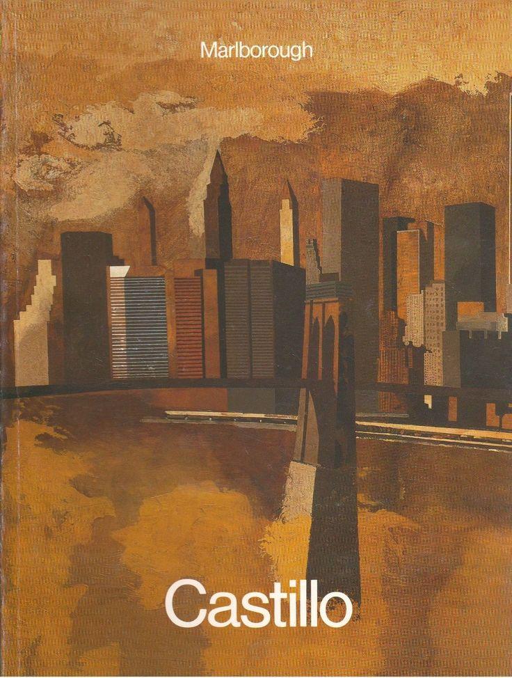 Jorge Castillo Art Book Marlborough Gallery New York City RARE 1989 Exhibit | eBay