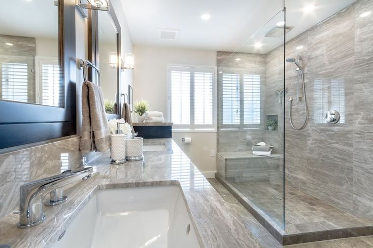 Bathroom: Classic Elegance with a Masculine Touch