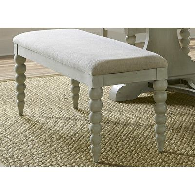Beachcrest Home Harbor View Upholstered Kitchen Bench & Reviews | Wayfair