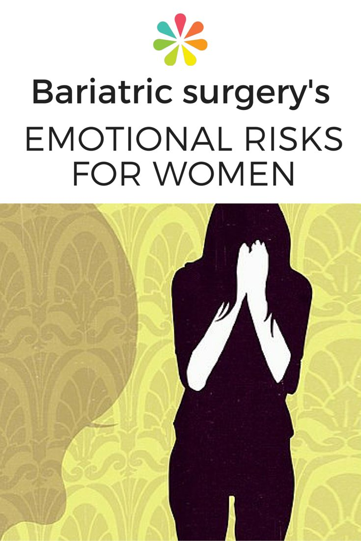 Bariatric surgery can have emotional risks for women. Psychological repercussions  can include self-harm emergencies. #bariatric #surgeryrisks #everydayhealth | everydayhealth.com