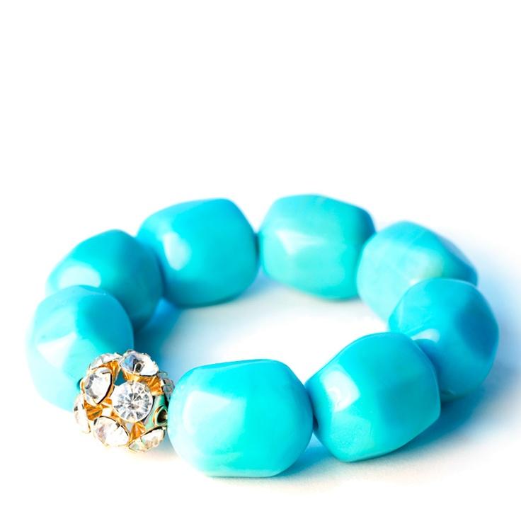 JustFabulousTurquoise Stones, Chunky Bracelets, Chunky Turquoise