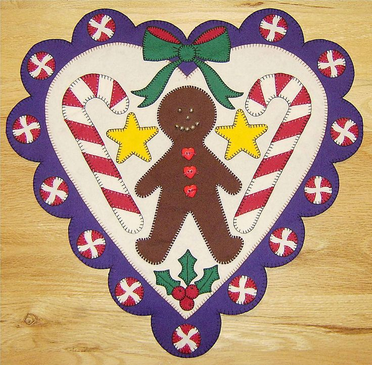 22 best quilts gingerbread images on Pinterest | Christmas ideas ... : gingerbread man quilt - Adamdwight.com