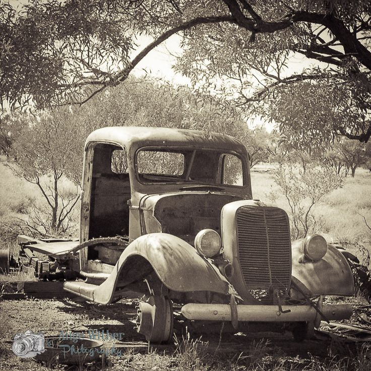 Abandoned Car Outback Australia