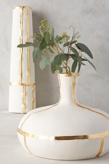 Fused Gold Vase - anthropologie.com #anthrofave