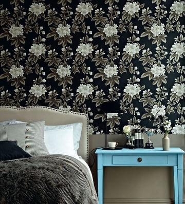 Les 58 meilleures images du tableau la d coration fleurie nous fait envie sur pinterest nous - Papier peint fleuri vintage ...