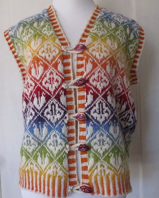 Ravelry: knittingcelestes Ottoman vest