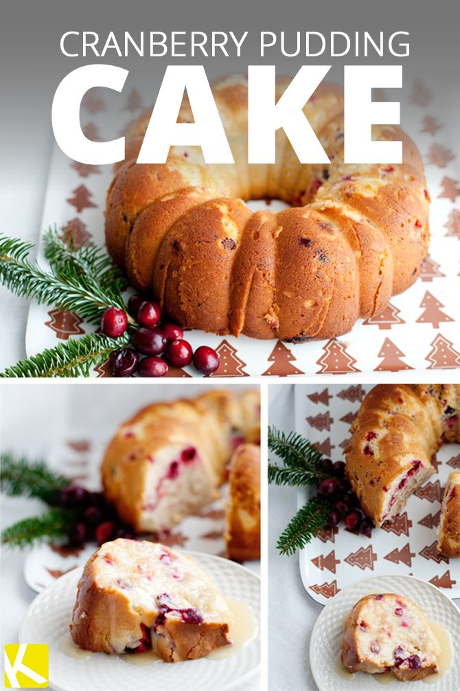 Pudding cake, Cranberries and Puddings on Pinterest