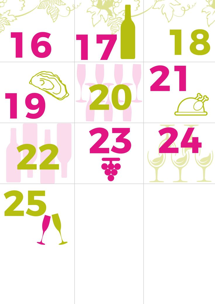 11 best Notre Calendrier de lu0027Avent images on Pinterest