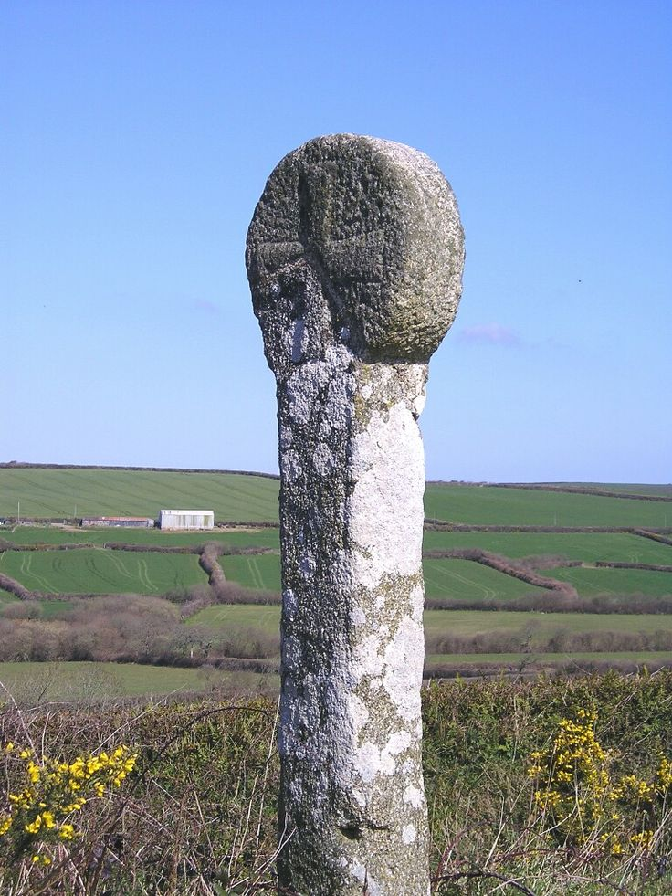 Job's Cross, Cornwall. 'Long may you remain, relic of the distant past, that touches still upon the peace of another world.'