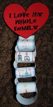 Primary Printables (Manual 1, Lesson 25)  Sunbeam Lesson #25, I Love My Whole Family