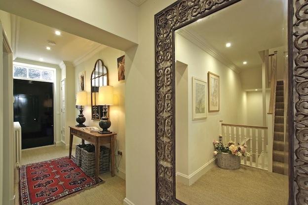 Hallway in the Pureycust Townhhouse