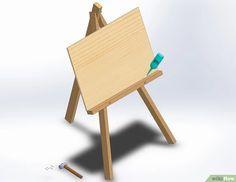 Cómo hacer un caballete para pintar