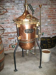 Spirit/Distilled beverage/liquor: alcoholic beverage containing ethanol that is produced by distilling ethanol produced by means of fermenting grain, fruit or vegetables; excludes undistilled fermented beverages like beer, wine, cider; spirit refers to a distilled beverage that contains no added sugar and has at least 20% alcohol by volume; ex: brandy, fruit brandy, gin, rum, tequila, vodka, whisky