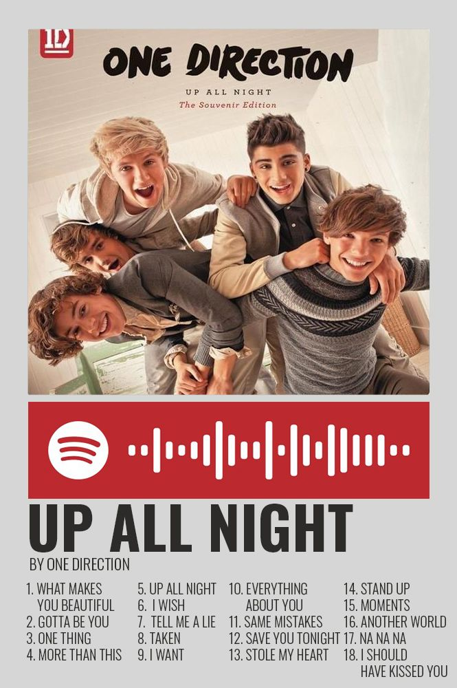Up All Night By One Direction Polaroid Poster One Direction Posters One Direction Albums One Direction Songs
