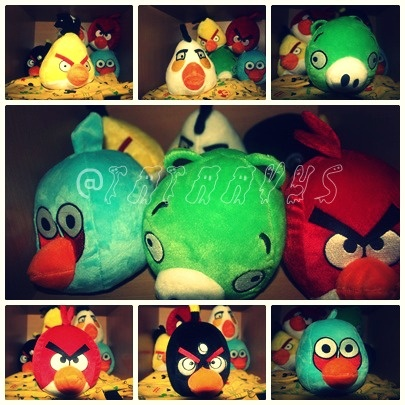 anggry birds dolls collection <3