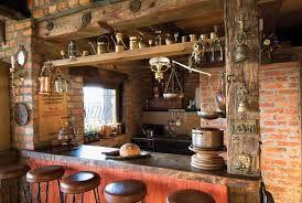decoracion con muebles de algarrobo - Buscar  ESTILO RUSTICO : mas cocinas