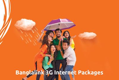Banglalink 3G internet packages most important and speedy pack. You can activate these BL internet packs by dialing some USSD codes. Get data bonus also!!