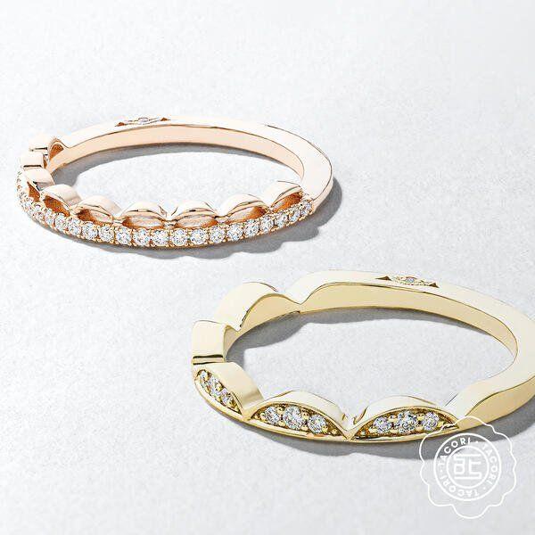 Scalloped Wedding Bands By Tacori Designer Engagement Rings Engagement Rings Rings