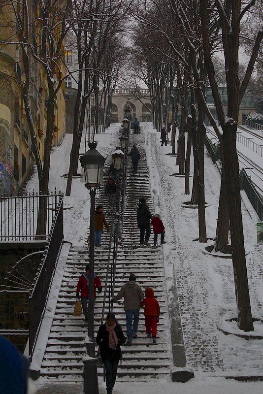 Rue Foyatier, Montmartre, Paris.