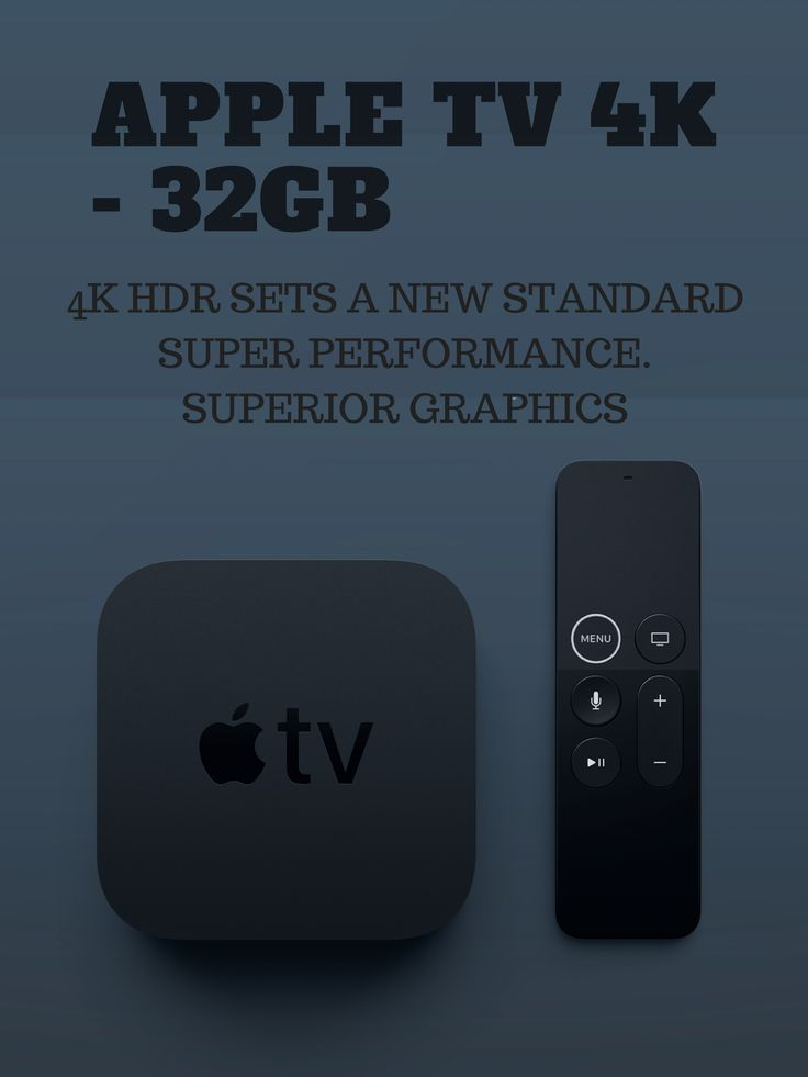4K High Dynamic Range (Dolby Vision and HDR10) for stunning picture quality Dolby Digital Plus 7.1 surround sound A10X Fusion chip for ultra-fast graphics and performance Voice search by asking the Siri Remote View photos and videos from your iPhone and iPad on TV