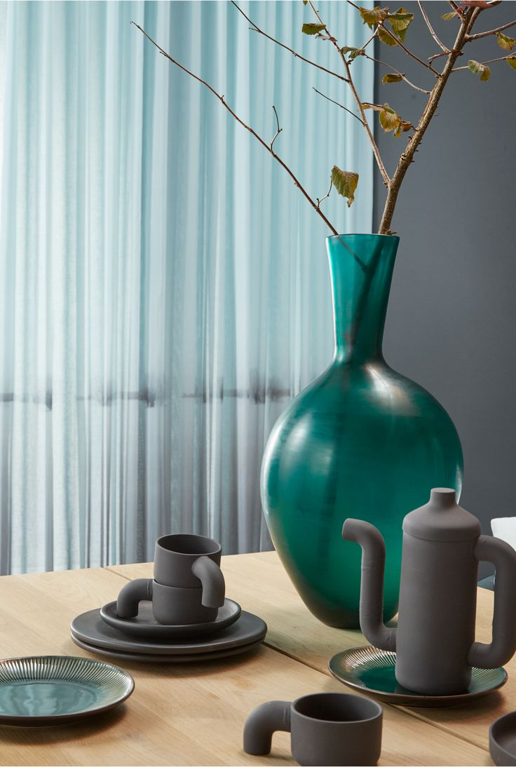 Rustgevend... filter het licht met transparante voile Silence #gordijnen…