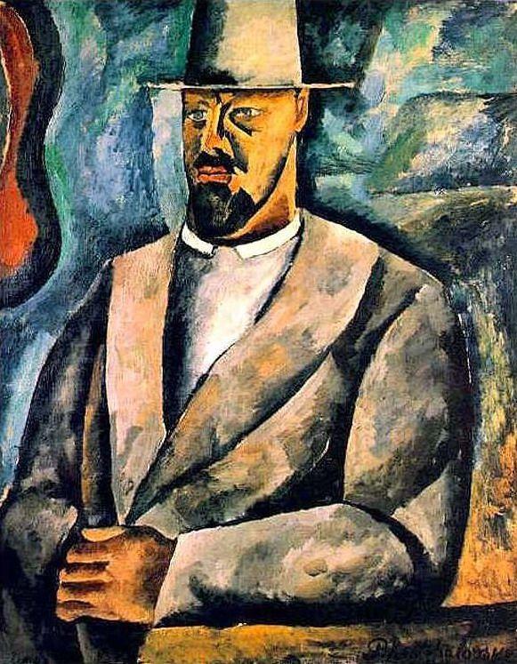 Self-portrait, 1912  Pyotr Konchalovsky