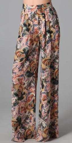 Elizabeth and James Jake Floral Printed Trouser