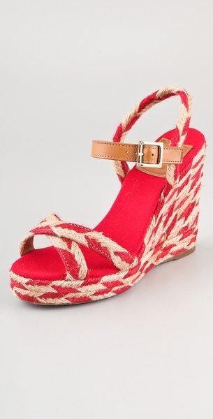 Tory Burch Camelia High Wedge Espadrilles: perfect for summer!