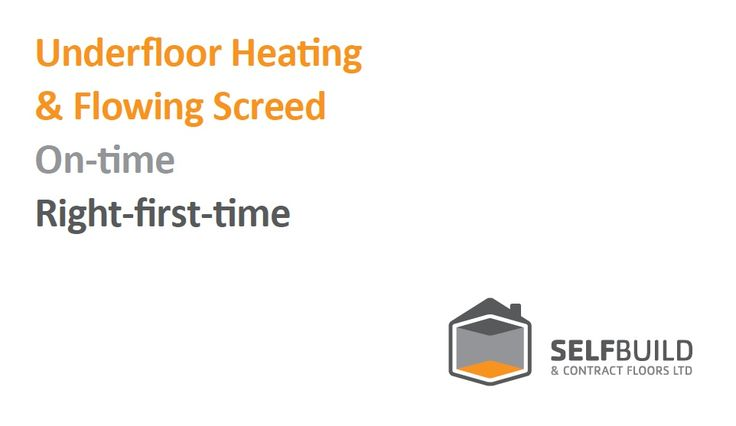 contact for underfloor heating designers/fitters.