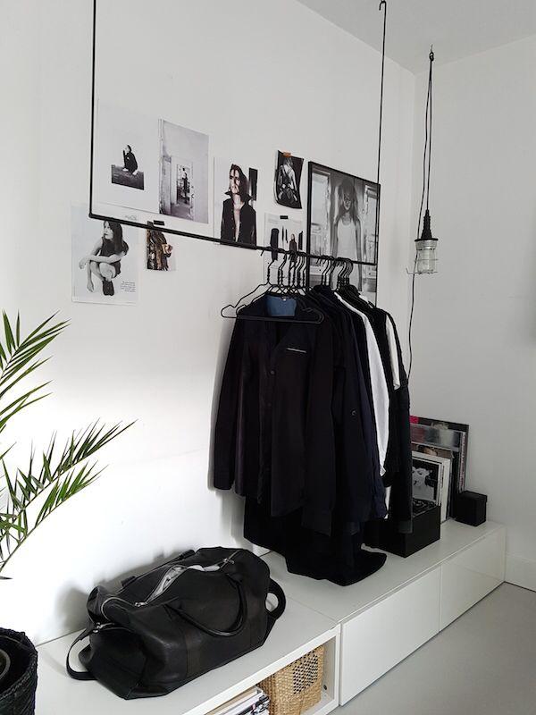 DIY- ordning & reda med snygg klädstång!