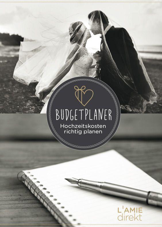 Budgetplaner: Die Kosten Der Hochzeit Richtig Planen