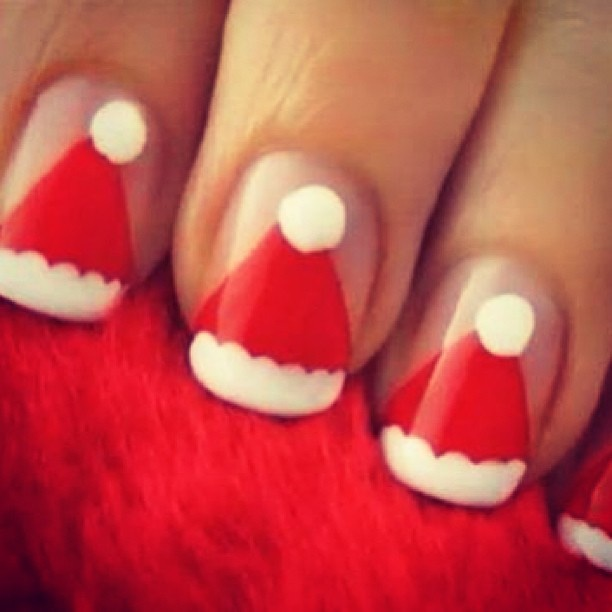 Cute Cristmas Nails    .@fashionclimaxx2 | #creative #nail #nails #nailart #naildesign #nailfashion #instanails #manicure | Webstagram - the best Instagram viewer
