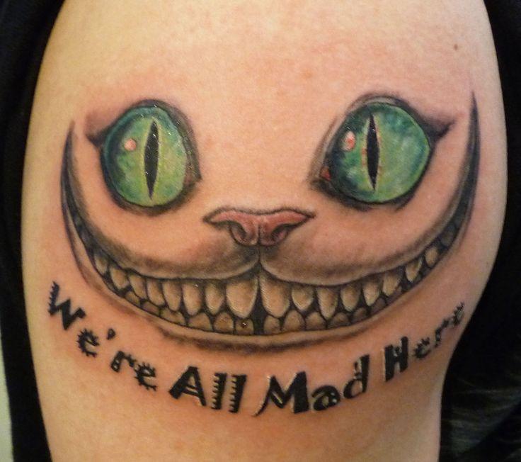 cheshire cat tattoo | Cheshire Cat Tattoo by hoviemon