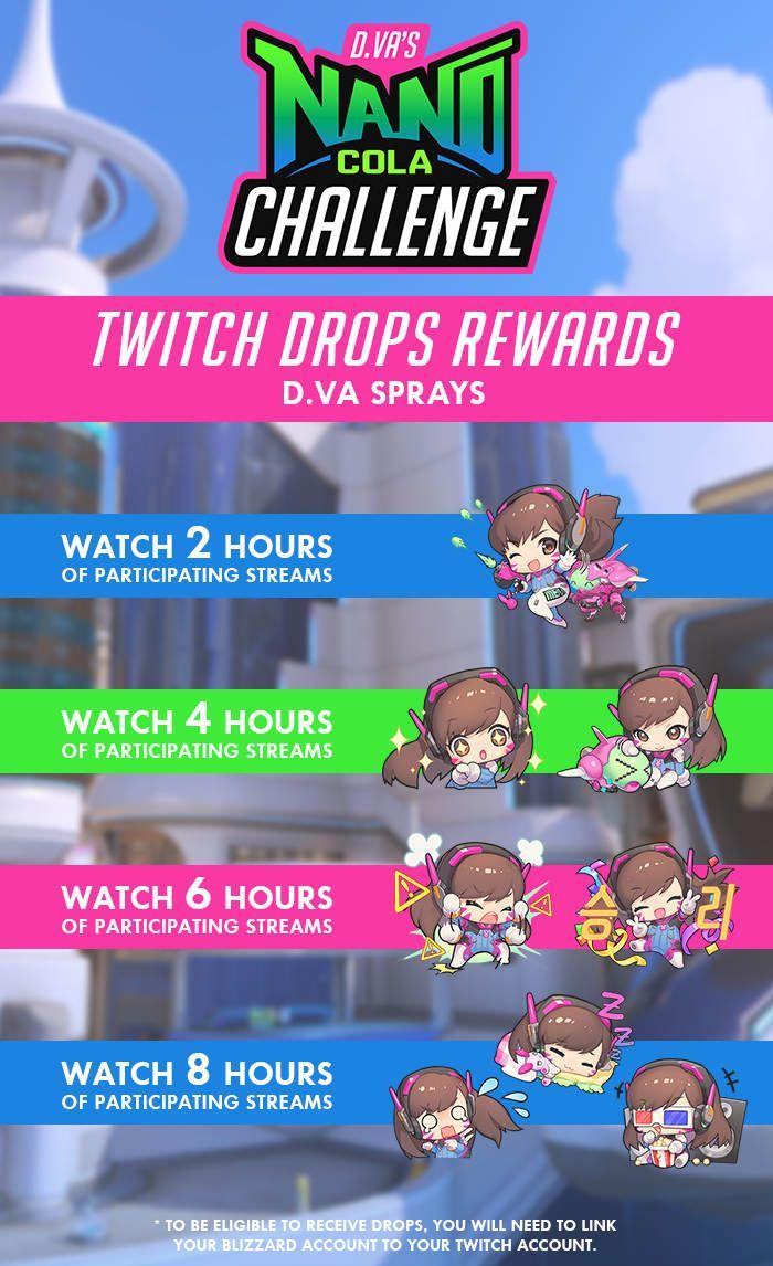 Don't Miss The D Va's Nano Cola Challenge Rewards