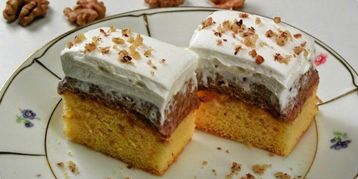 Sastojci: Za tijesto: -6 jaja -6 žlica šećera -1 Vanilin šećer -6 žlica brašna -1 žlica limunova soka -malo naribane limunove ko...