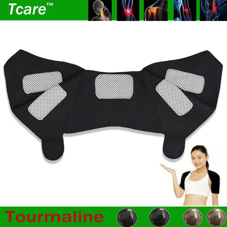 Tcare 1 Pcs almofadas de Apoio cervical Massager Magnético Turmalina auto-aquecimento Ombro almofada de ombro congelado massagem Cuidados de Saúde