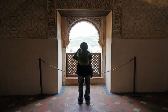 The Alhambra: Even the young photographing everything