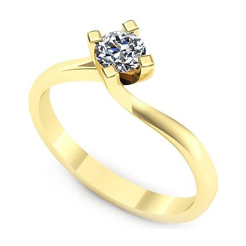 Inel logodna L29GDI Inel cu diamant
