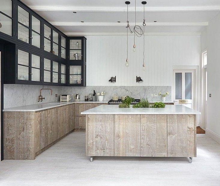 How To Whitewash Oak Kitchen Cabinets   Oak kitchen ...