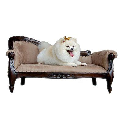 Spoil your sweetheart! Victorian Pet Sofa by Model Home Today #ATGstores #dogbed