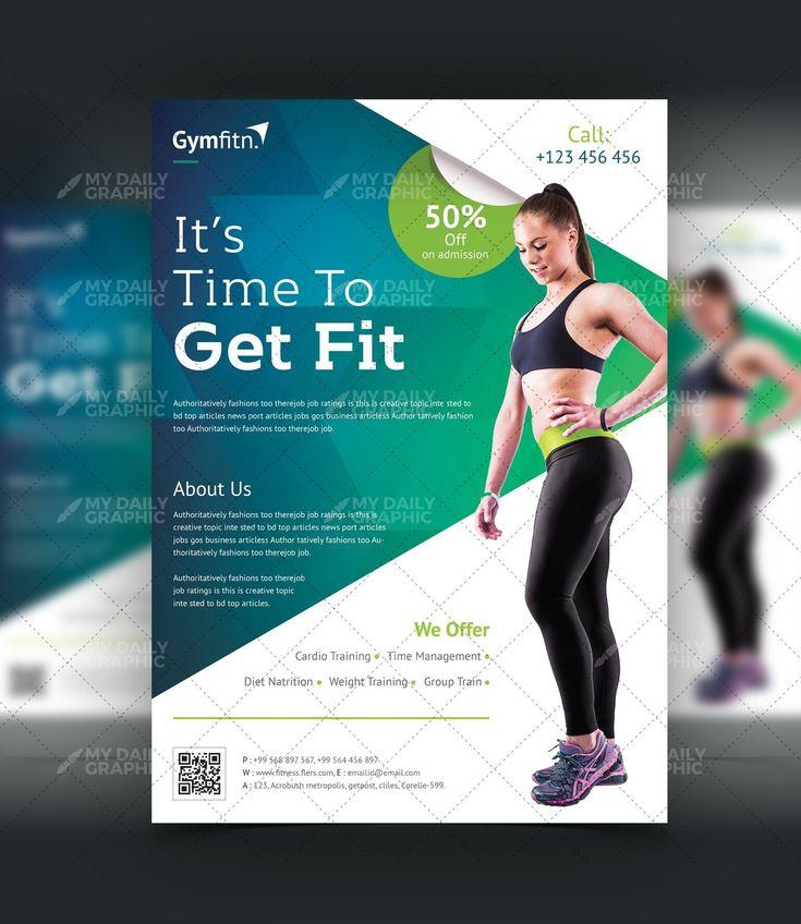Professional GYM - Fitness Flyer Design