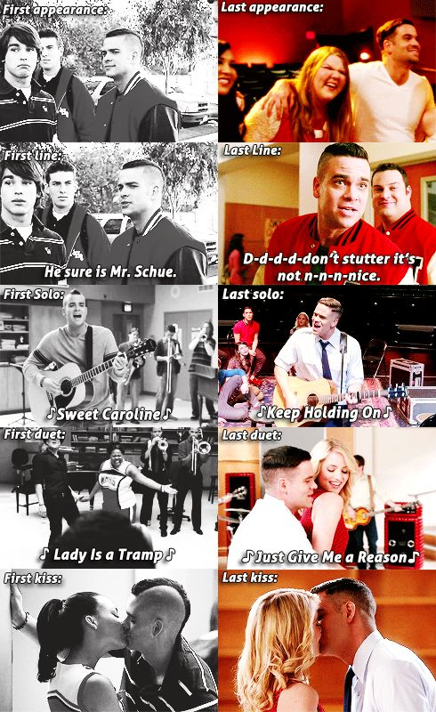 Puckerman - I had a huge crush on him still kinda do.  #Glee