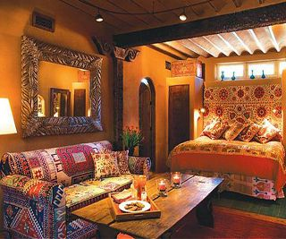 Inn of the Five Graces in Santa Fe, NM. an absolute enchantment