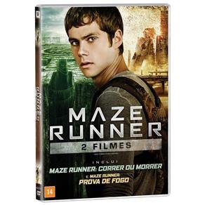 DVD Duplo: Maze Runner - Correr Ou Morrer + Maz...