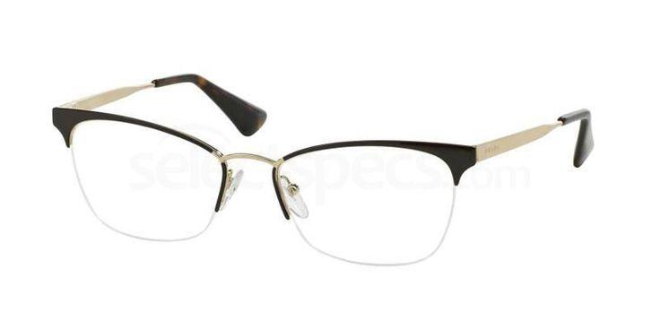 Prada PR 65QV Designer Prescription Glasses - Free Lenses & Delivery - Available at #SelectSpecs