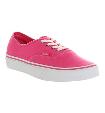 Vans Authentic Carmine Rose Pink Shoes Trainers Office