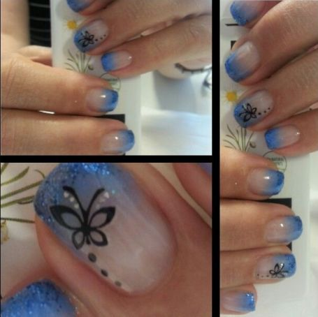 9 schöne Schmetterling Nail Art Designs – Nail design ideas