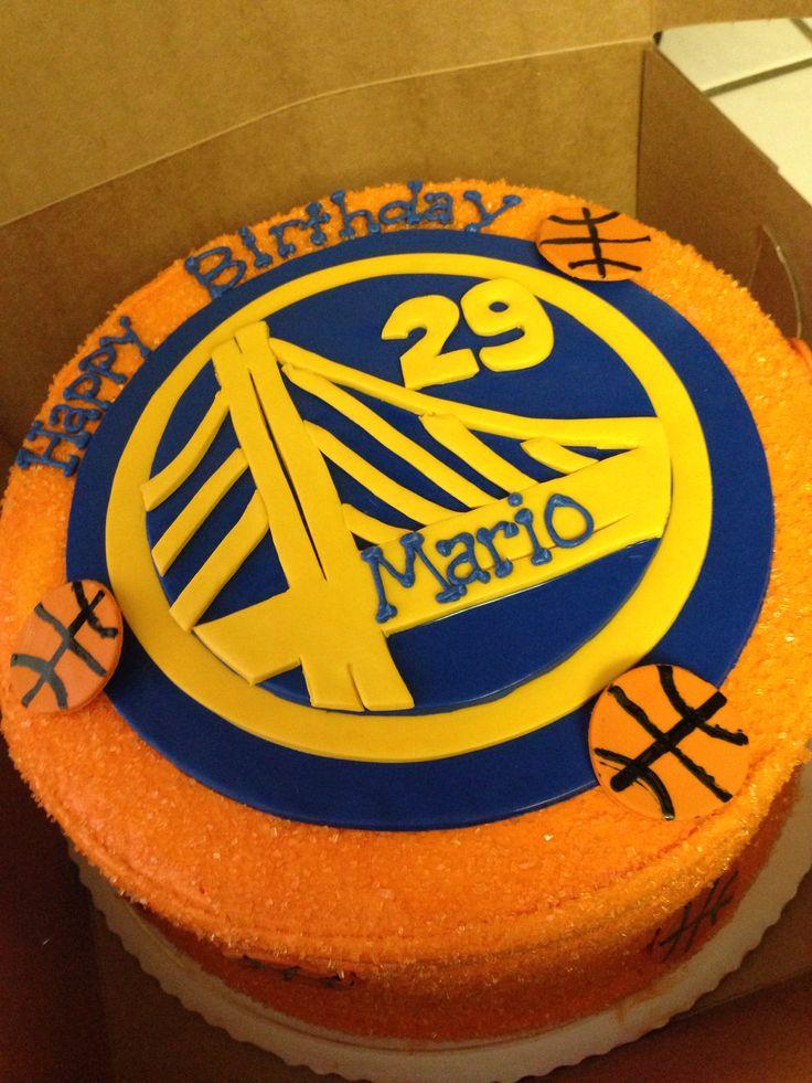 Golden State Warriors Birthday Cake Letsgowarriors