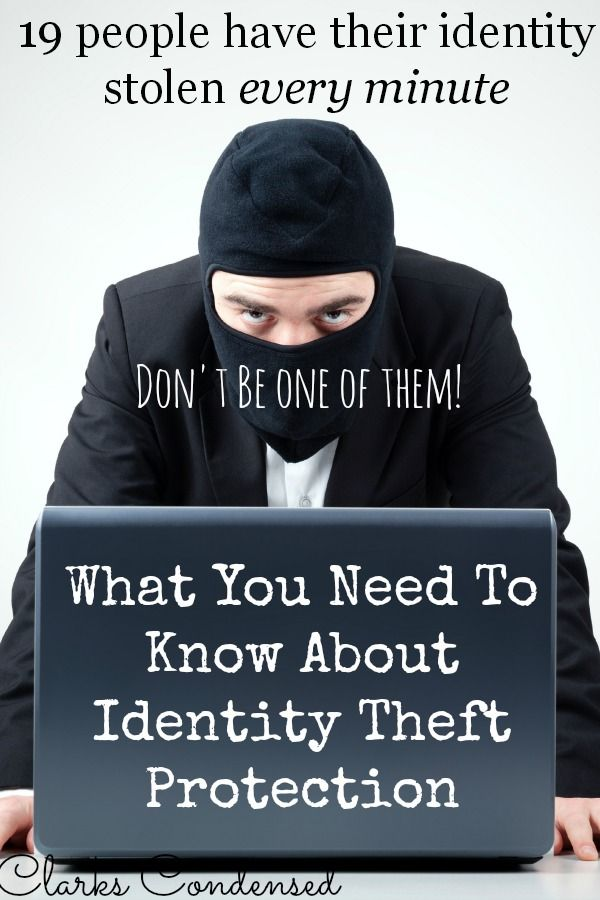 Don't be one of the one of the almost 10 million people who have their identity stolen each year. Here is all you need to know about identity theft protection.