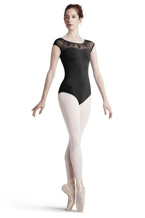 b91d553fe2e3 Bloch l7772 women saviera button back cap sleeve leotard in 2019 | DANSE |  Leotards, Cap sleeves, Dance wear
